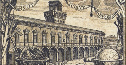 University of Bologna woodcut